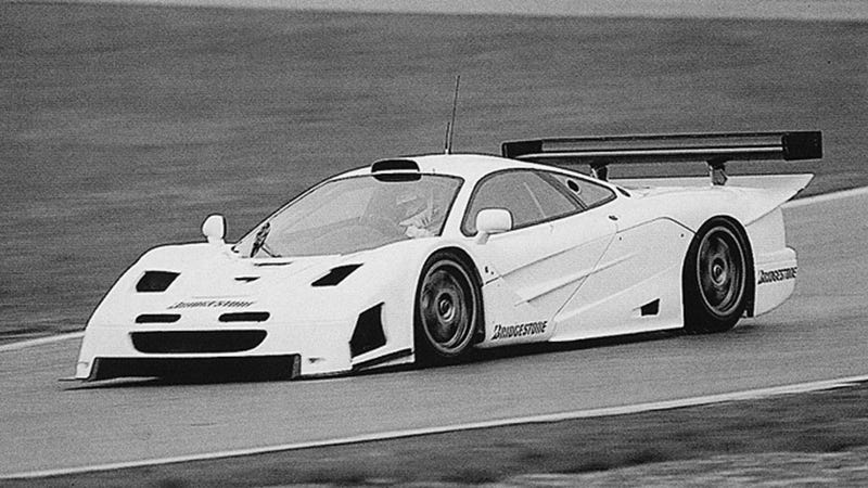 The Original Prototype For The Mercedes CLK-GTR Was A McLaren F1 GTR