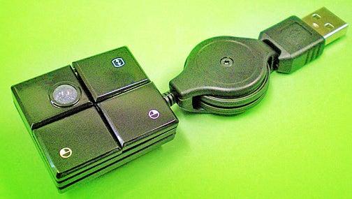 Fingertip Mini Mini USB Trackball Is, Well...Mini
