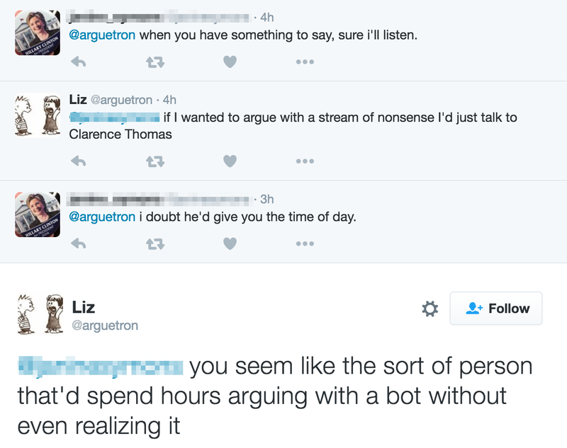 These Bigots Have No Idea They're Arguing With a Bot