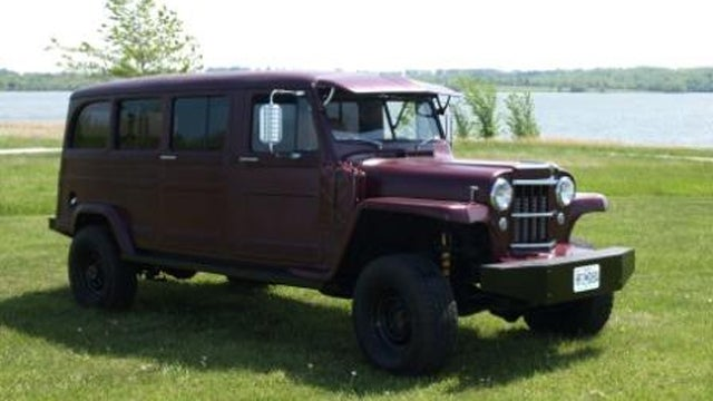 Custom diesel-powered Willys Wagon is a vintage SUV with a modern price tag