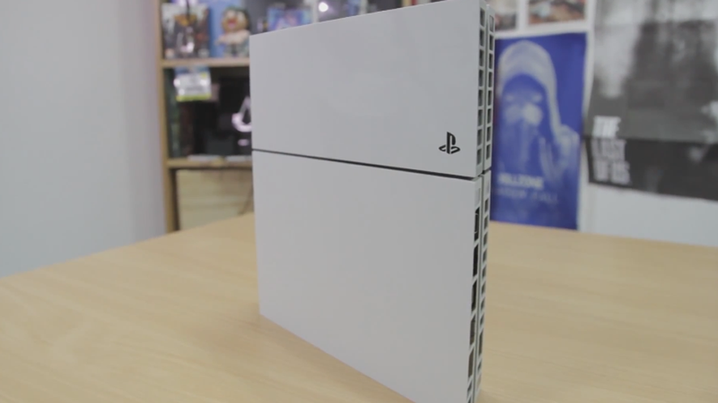 Up Close With The White PS4