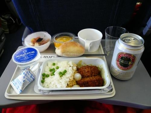 Airplane food tastes bad because your brain can't handle the noise