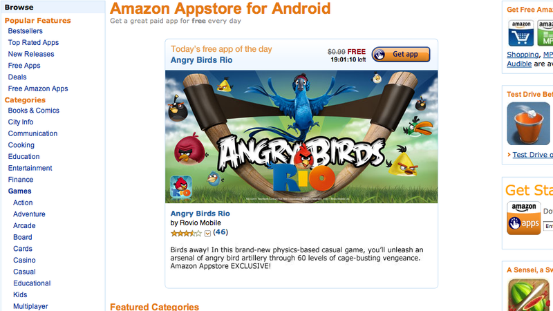 Amazon's Android App Store: Your New Android Market
