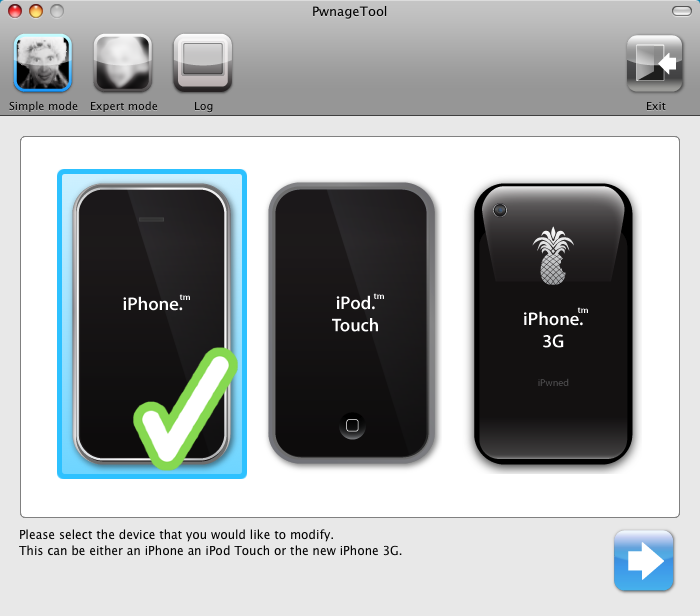 Jailbreak iPhone 2.0 with PwnageTool