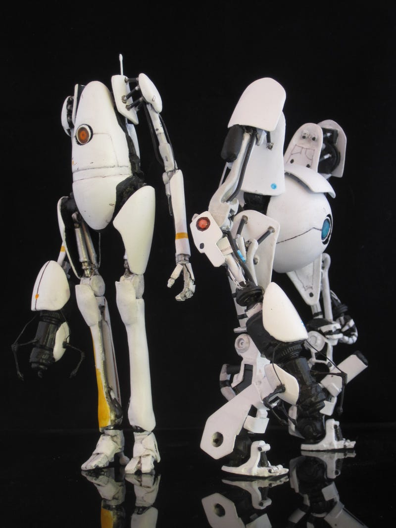 These Custom Portal 2 Figures Came Straight from Testing
