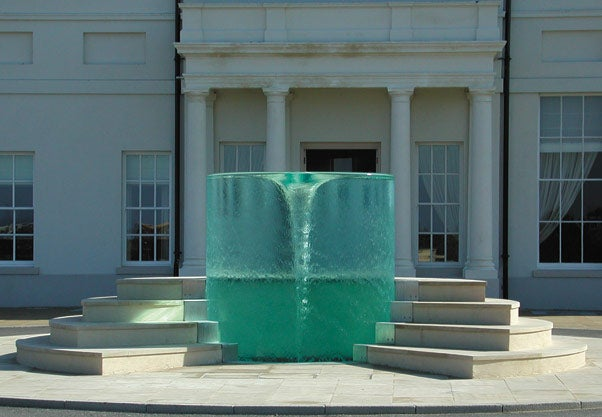 Vortex Fountain Scares the Piss Out of Traditional Fountains