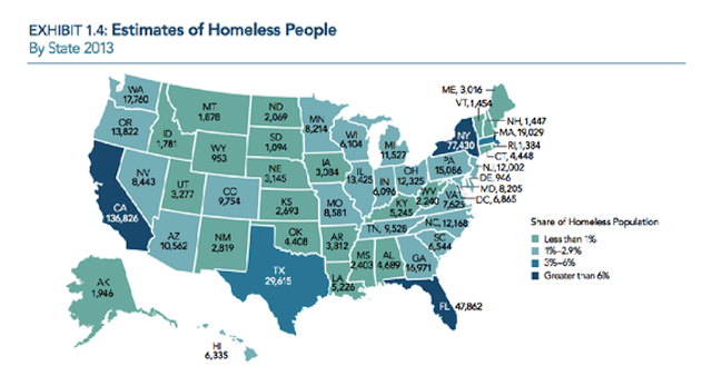 Where Homelessness Is Getting Worse (It's Not the Places You'd Think)