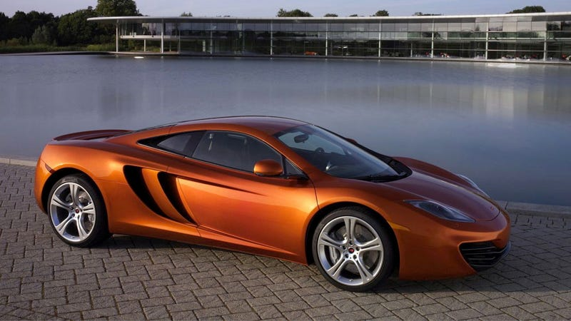 McLaren MP4-12C fastest around Top Gear's track?