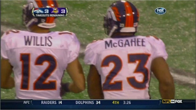 Oh, Look. It's Willis McGahee, And It's Willis And McGahee