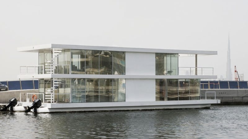 Gorgeous Floating Buildings Around the World