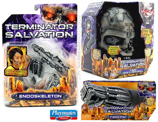 Terminator: Salvation Toys Do Everything But Tear Down Aloof Lighting Directors