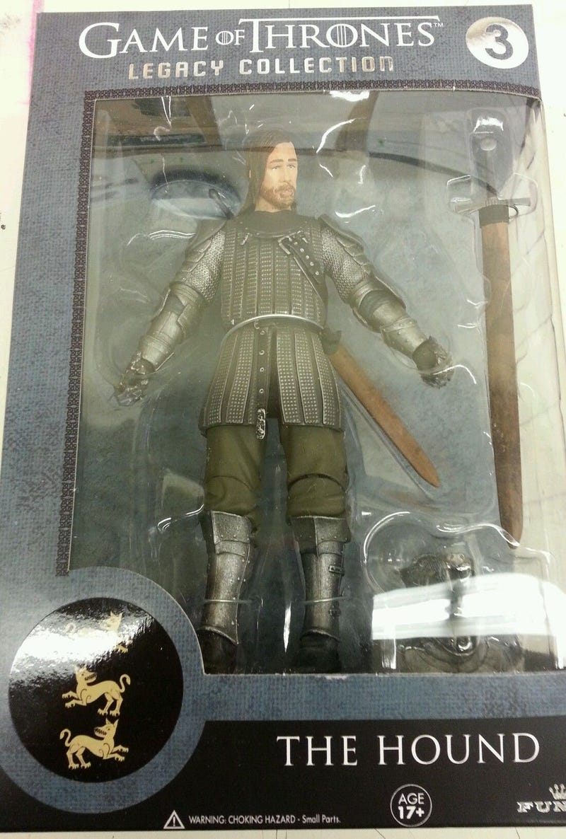 Pictures of Funko's 'Legacy' line of Game of Thrones figures leak out