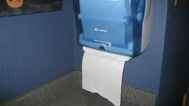 Paper Towel Dispensers, Firefox Downloads, and iOS Camera Gestures