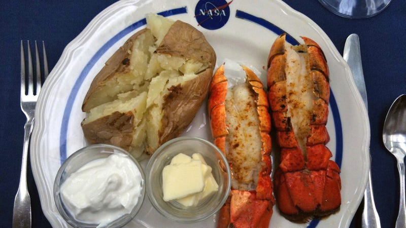 This Is the Delicious Breakfast That Shuttle Astronauts Had Today