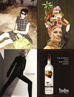 Androgynous Robots, Root Beer Vodka & A Fellow In A Frock: Fall's Worst Ads