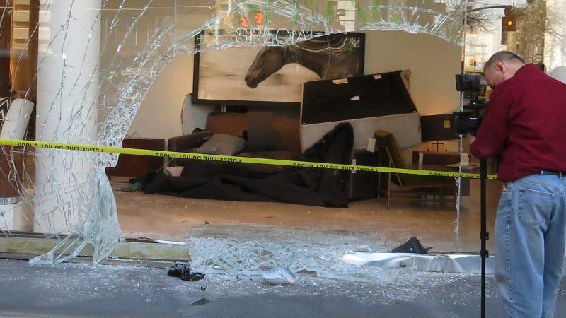 BMW Crashes Into SoHo Store, Most Premium Crash In NYC