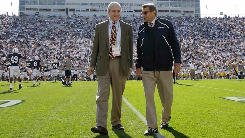 Report: Fired Penn State President Now Working On National Security Project