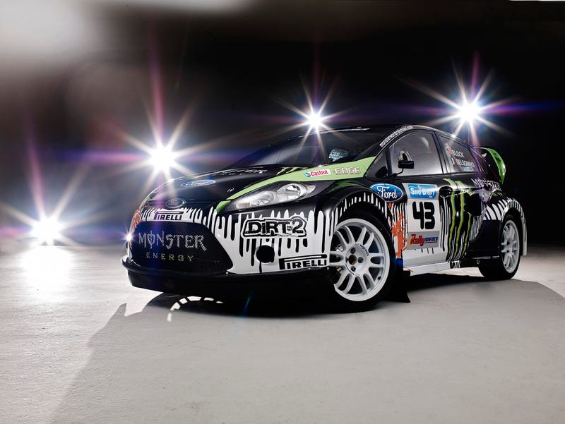 Ken Block's New Ford Rally Car Is Monstrously Cool