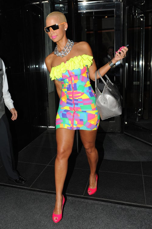 Amber Rose Totally Nailed Her Audition For The Role Of Rainbow Brite