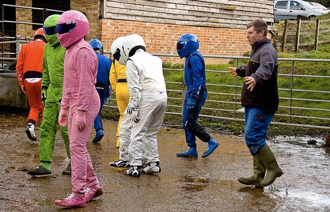 Top Gear's New Stig Bred On Crazy Farm