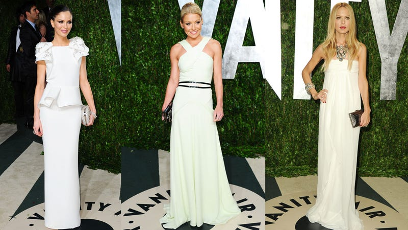 More Oscar Night Gowns at the Vanity Fair Party