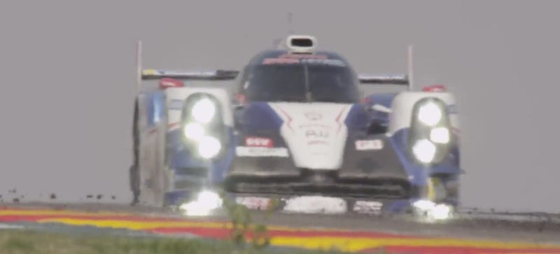 Let The Smooth Sounds Of Toyota's Le Mans Racer Thrill And Amaze You