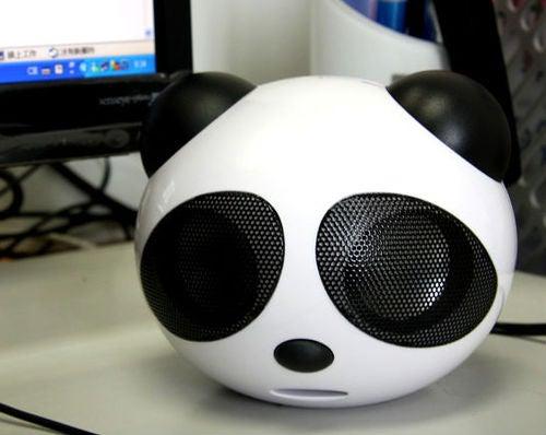 That's a Big USB Panda Speaker Alright