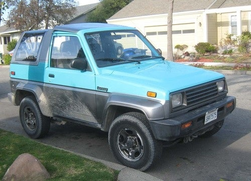 1992 Daihatsu Rocky Down On The Alameda Street