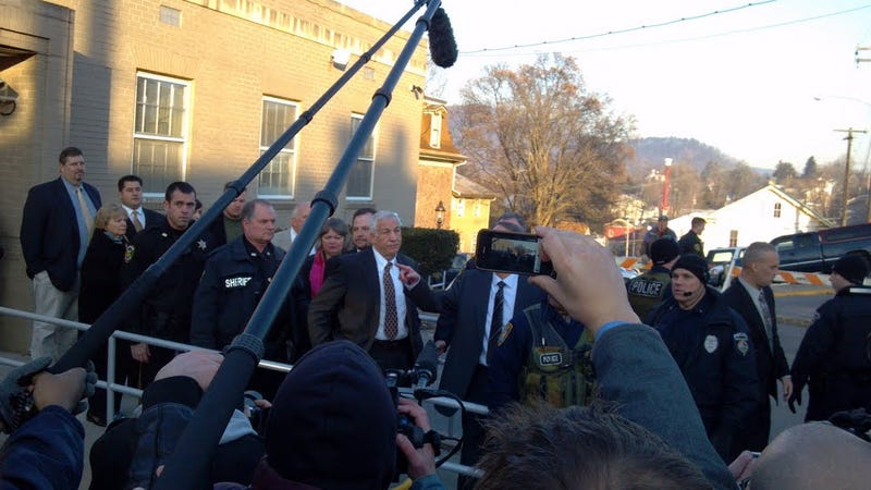 The Sandusky Hearing That Wasn't: A Gallery