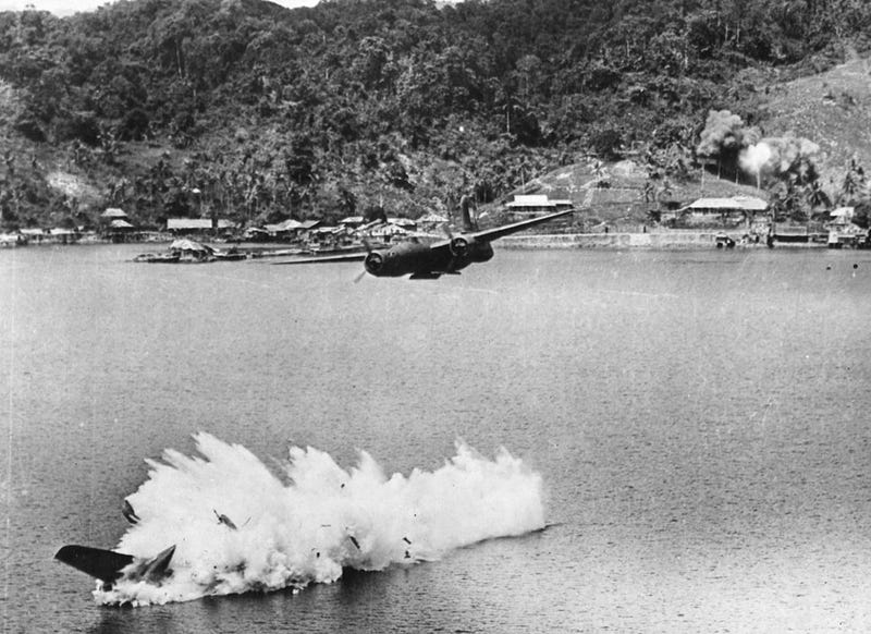 Island Hopping, Kamikaze, No Prisoners: Images from the Pacific Islands and WW2