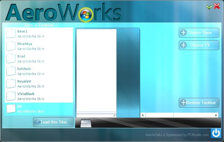 AeroWorks Reskins Your Windows 7 Taskbar Without Patching