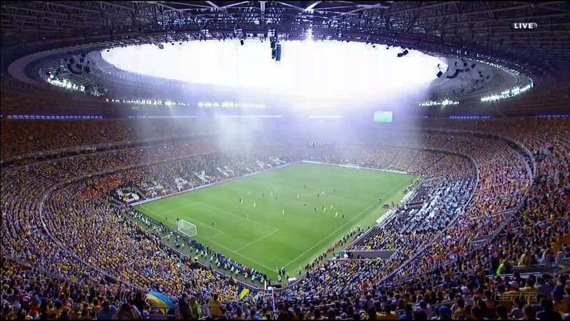 Today's Ukraine-France Match Is Delayed Because God Is Angry
