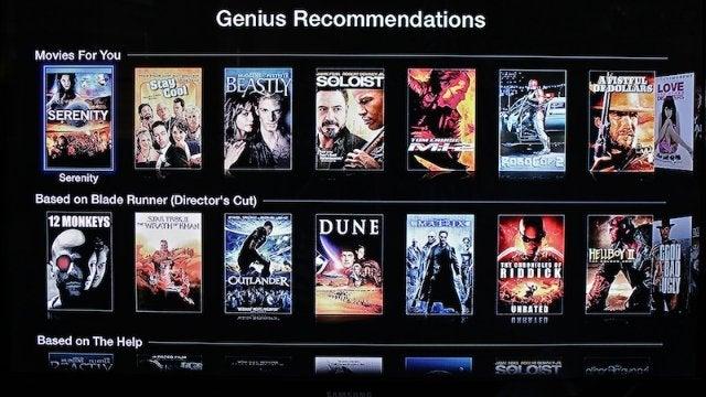 Apple TV Now Has Genius Recommendations