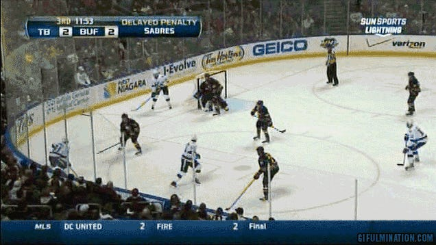 Steven Stamkos Scores On His Own Empty Net During Delayed Penalty
