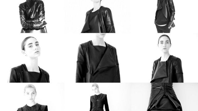 Look hot for the apocalypse in this Rad Hourani transformer leather jacket
