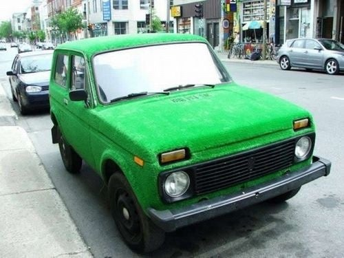 Russian Lada Gets Skinned In American Astroturf