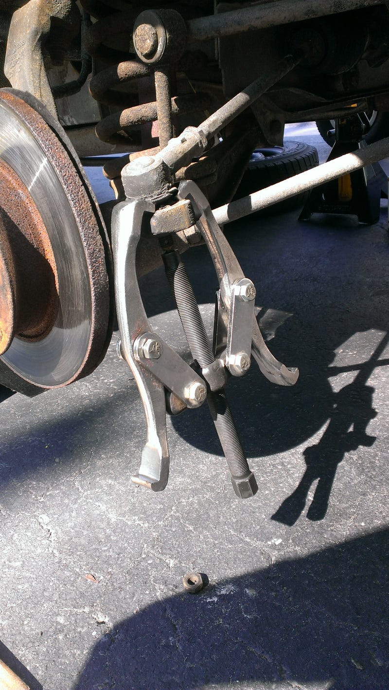 Tie Rod Ends And Boots - Went Easier Than Expected.