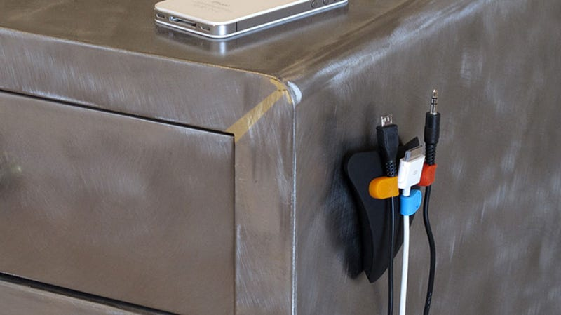 MOS Magnetic Cable Organizer Magnetizes Your Cords and Holds Them Anywhere