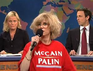 The Crazy McCain Lady on 'SNL': 'Mmm Ummm Ahhh Hobama?'