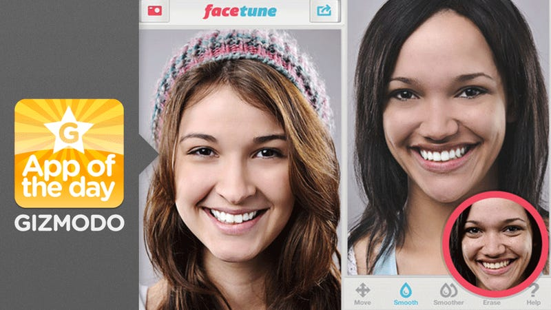 Facetune: A Simple Editor for Your Selfies