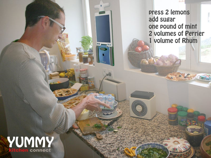 Yummy Kitchen Connect is Web 2.0 for the Kitchen