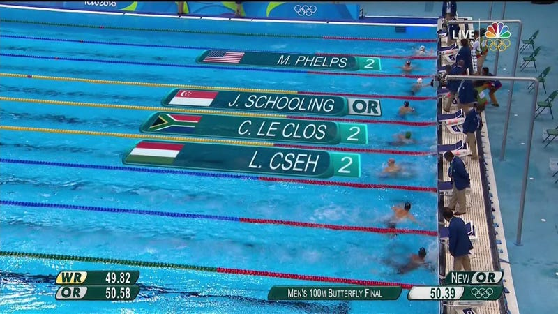 This Is Why There Are So Many Ties In Swimming