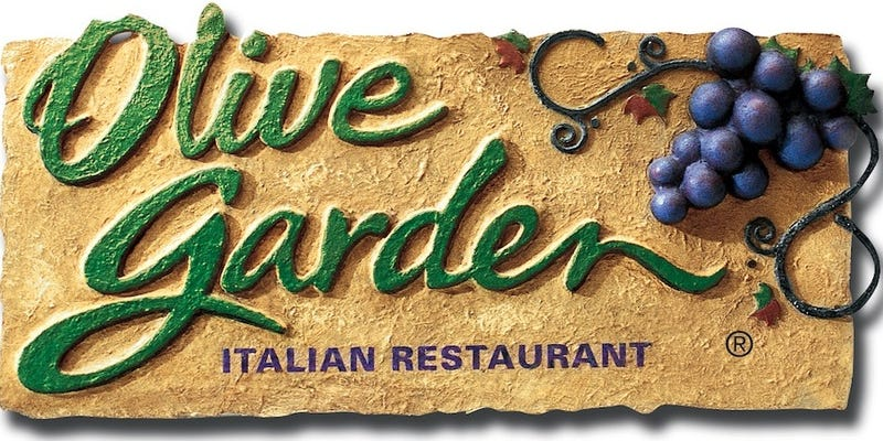 Comment of the Day: What's So Bad About the Olive Garden?