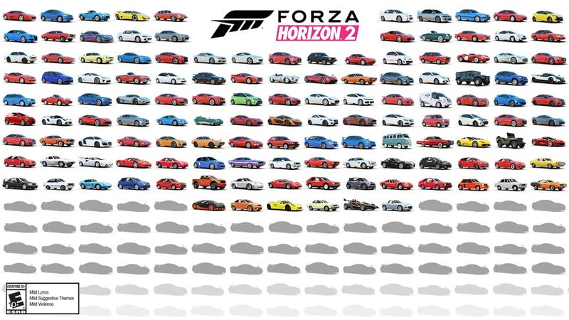 Even More Sweet Cars For Forza Horizon 2