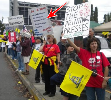 Oregon Tea Party Borrows 4chan's Slogan