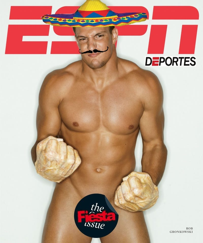 "Your Rob Gronkowski On The Cover Of ""The Body Issue"" Photoshop Roundup"