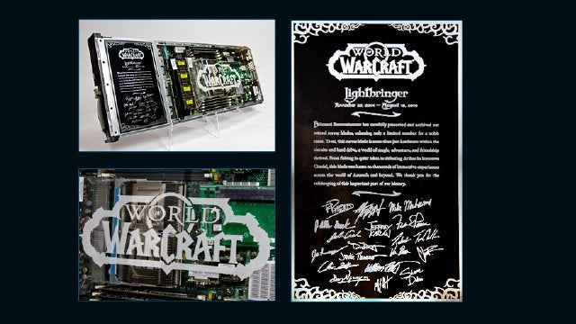 Blizzard Selling World of Warcraft Server Blades, for a Good Cause