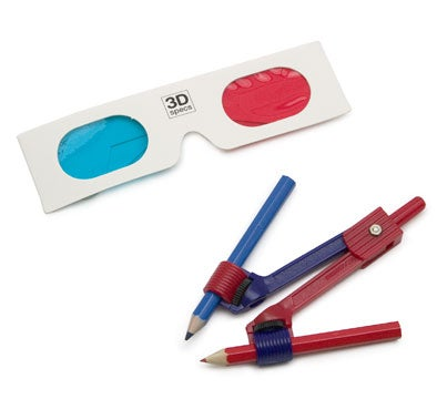 3D Doodle Kit and Glasses (The Red and Blue Kind)
