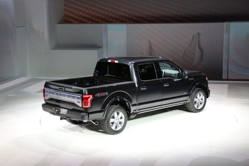 The 2015 Ford F-150 Looks Even Better Live