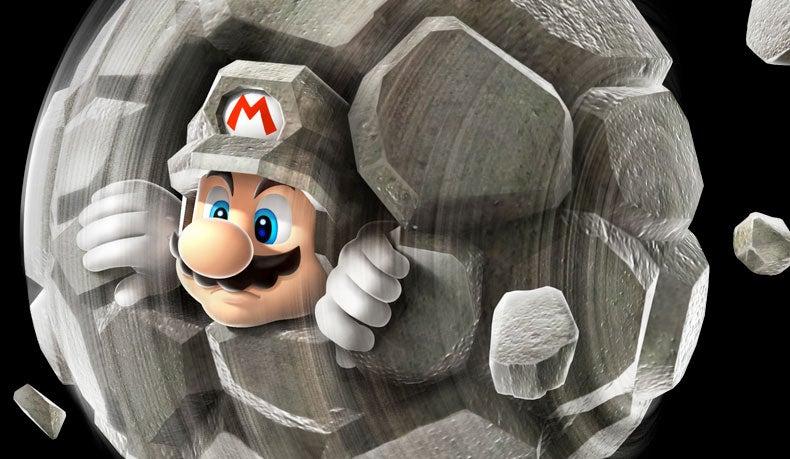 New Super Mario Galaxy 2 Trailer Introduces Rock Mario